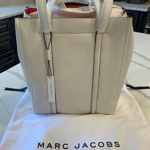 Marc Jacobs leather white purse bag large